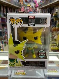 Funko-Pop-MARVEL-80-YEARS-ELECTRO-Specialty-Series-545-with-protector-case