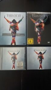 This Is It Lot, CD + DVD, Michael Jackson, EU, Germany, Poland, First Press