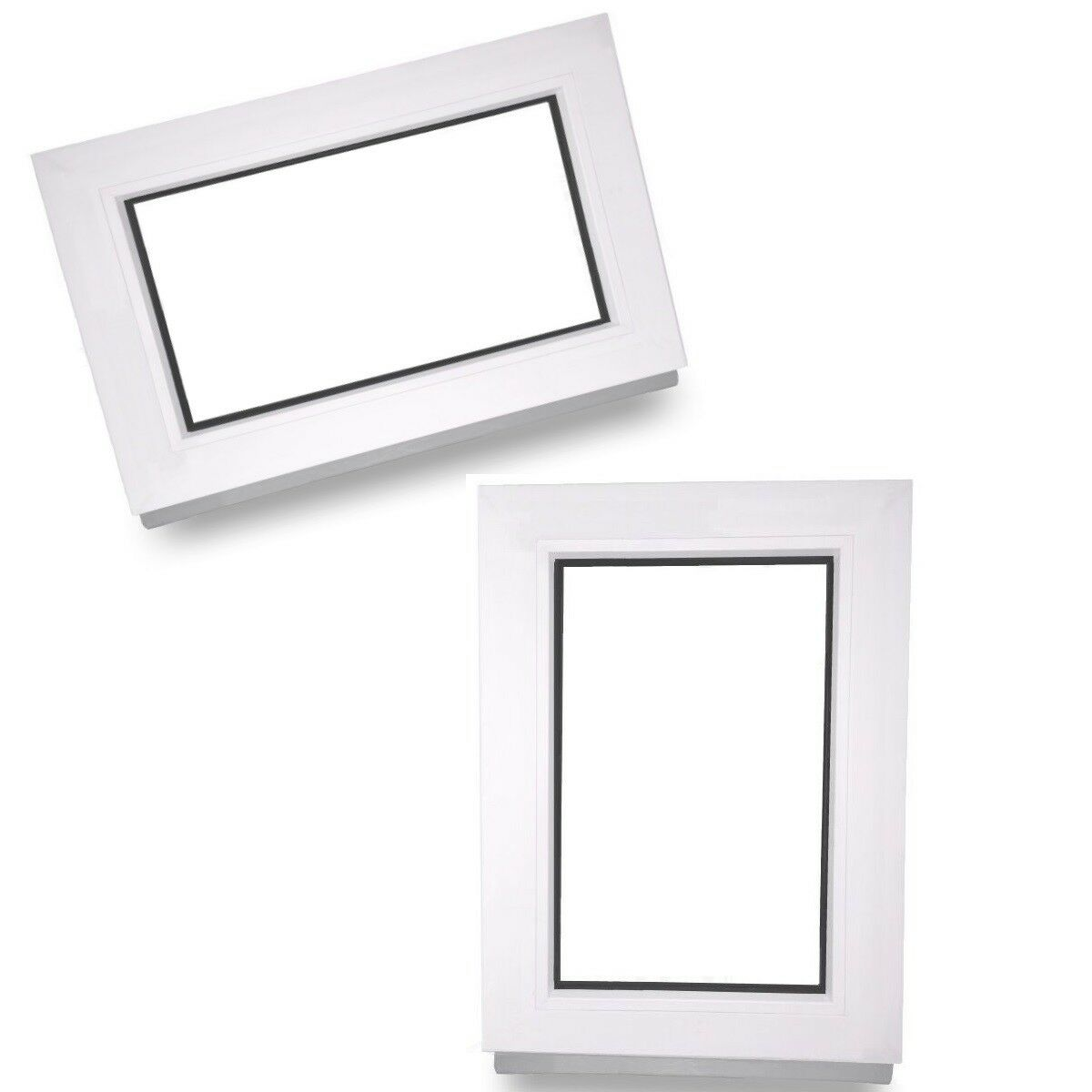 Kunststofffenster Fenster Festverglasung Festelement Isolierglas alle Größen