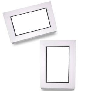 Kunststofffenster-Fenster-Festverglasung-Festelement-Isolierglas-ALLE-Groessen