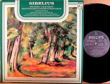RARE PHILIPS CANADA Sibelius HENRYK SZERYNG Violin Concerto VAN BEINUM 6539 063