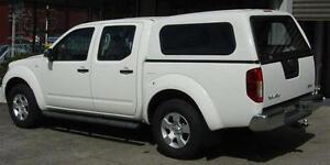 Dual Cab Ute Canopy For Nissan Navara D40 Smooth