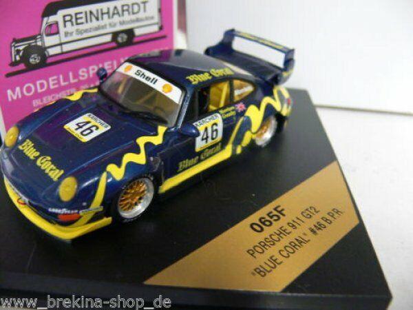 1 43 Vitesse Porsche 911 bluee Coral B P.R. Morrison Morrison Morrison Greasley 065F 5044f3