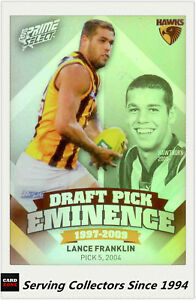2013-Select-AFL-Prime-Draft-Pick-Eminence-Card-DPE52-Lance-Franklin-Hawks