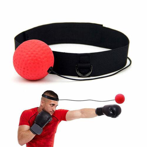 Rubber Boxing Magic Ball Training Reflex Speedball Training Device With Headband