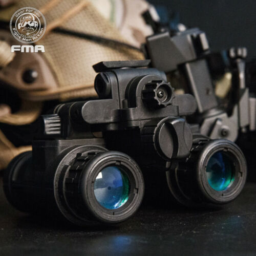 FMA Airsoft Binocular Helmet NVG PVS31  Dummy w// Light Function Version B Army