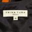 Trina-Turk-Floral-Dress-Sleeveless-Split-Neck-Sz-6-Fitted-sheath-Red-Black thumbnail 10