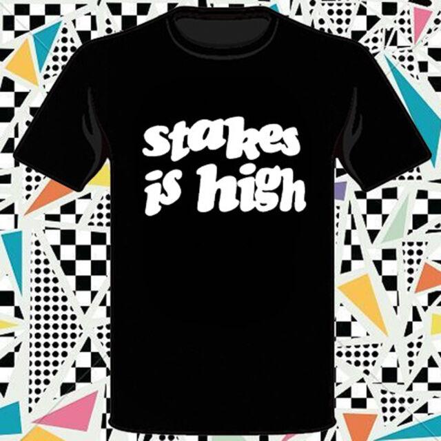 New DE LA SOUL Stakes is High Hip-Hop/Rap Men's Black T-Shirt Size S to 3XL
