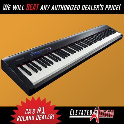 Roland Fp 30 Bk 88 Key Digital Piano Ebay