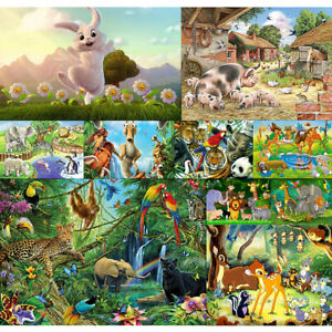 Animal-Paradise-Full-Drill-DIY-5D-Diamond-Embroidery-Painting-Cross-Stitch-Mural