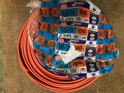 75 ft 10//3 NM-B WG Romex Wire//Cable