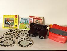 VTG VIEWMASTER 1951 Sawyer 1980's Tyco 12 Reels Disney Goldilocks Bambi Woody