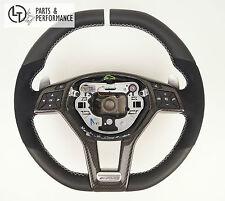 Leder Lenkrad für Mercedes-Benz 45 63 AMG W204 W212 X156 W176 R231 R172 * Perf.