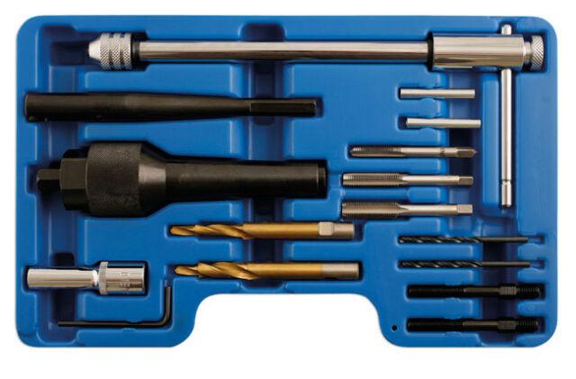 LASER TOOLS 5205 Damaged Glow GLO Plug Tool Kit Removes 8mm & 10mm glow plugs