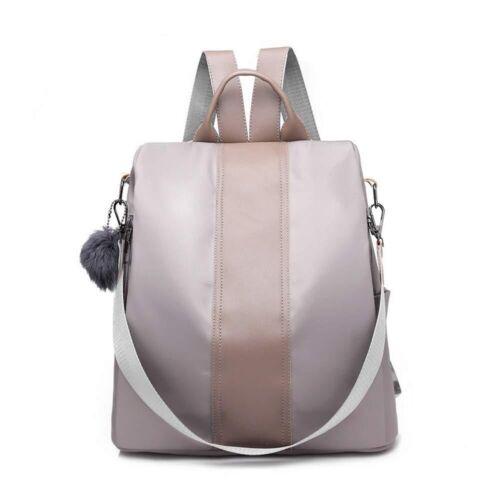 Men Women Waterproof Anti-theft Backpack Knapsack Travel Rucksack Shoulder Bag
