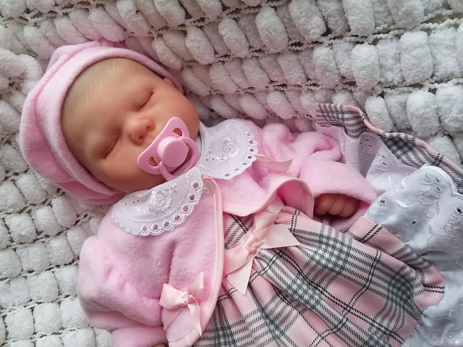 Realista muñecas recién nacido realista Reborn Bebé Spencer Dickison sunbeambabies