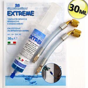 3S STOP FUITES EXTREME CLIMATISEUR ADAPTATEURS 1//4 5//16 sae R410A R407C R404A