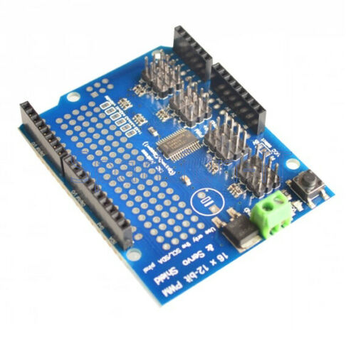 I2C PCA9685 For Arduino 1PCS 16-Channel 12-bit PWM Servo Driver shield board