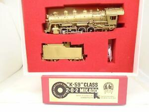 Key-Imports-Ho-brass-K-59-class-2-8-2-steam-locomotive-for-repair-sr
