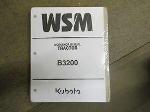 kubota b3200 b 3200 tractor service repair manual ebay rh ebay com Kubota B-Series Tractors Kubota 2800 Series