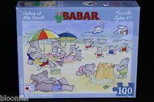 Babar at the Beach 100 piece Puzzle (New York Puzzle Company)