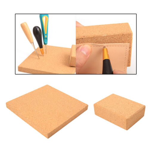 Leather Craft Cork Plate Board Awl Screwdriver Pins Needles Stand For Home Use