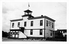 Photo. ca 1939.  Quesnel, BC Canada. Fire Hall - City Hall