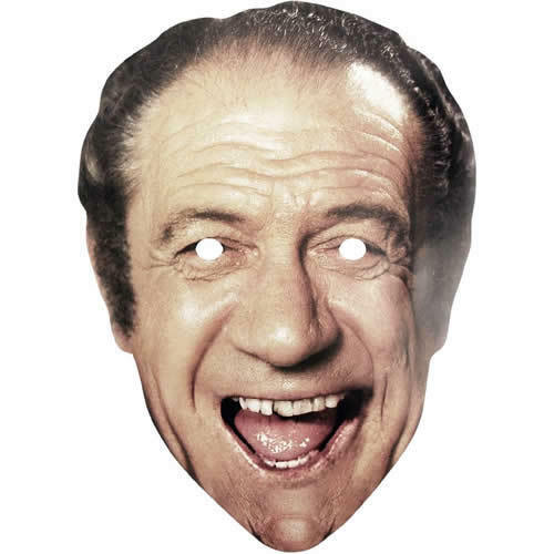 Our Masks Are Pre-Cut Sid James Celebrity Actor Card Mask Carry On Films Retro