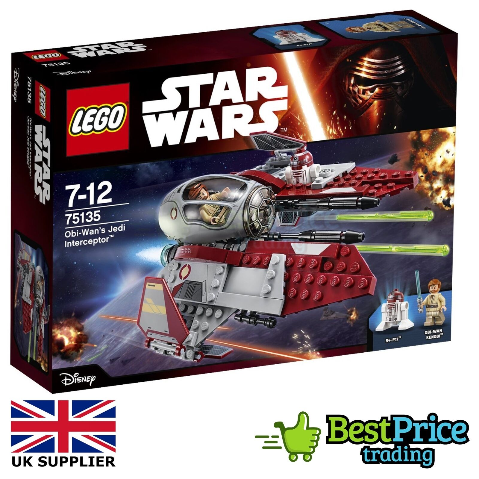 Lego Star Wars 75135 Obi-Wan's Jedi Interceptor BRAND NEW & SEALED Kenobi
