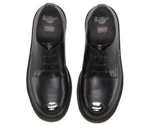 8c21248aeb2 Dr. Martens Women`s Keaton Steel Toe Cap Smooth Black US 8 EU 39 UK ...
