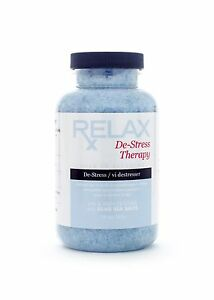 STRESS-THERAPY-BATH-CRYSTALS-19OZ-MINERAL-SEA-SALTS-SPAS-WHIRLPOOL-BATHS-HOTTUB