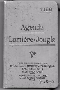 Agenda-Lumiere-Jougla-1922-Photo