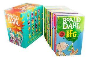 Roald-Dahl-Collection-16-Books-Box-Set-Pack-NEW-Set