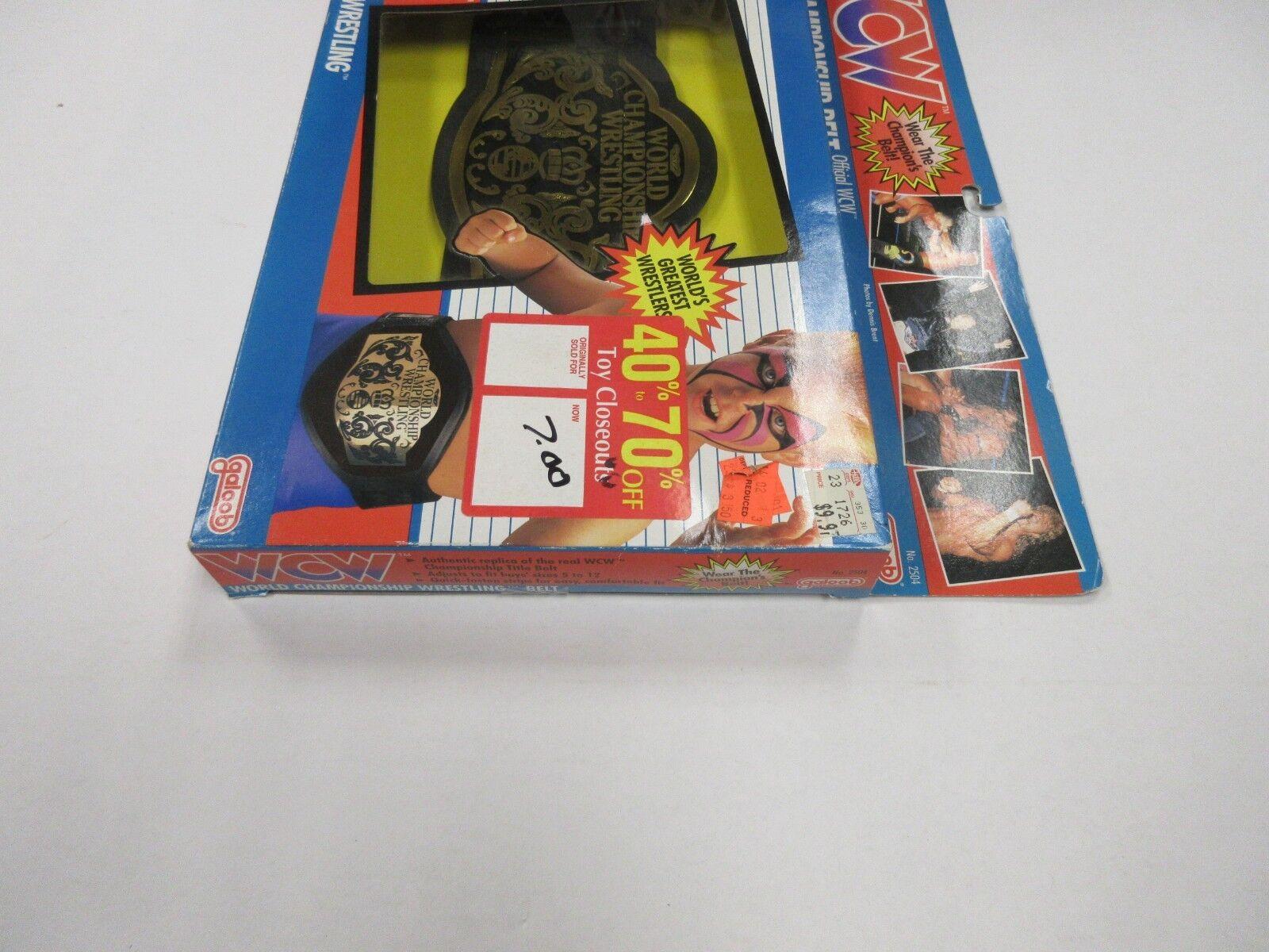 1991 GALOOB GALOOB GALOOB WCW CHAMPIONSHIP BELT FACTORY SEALED 08b4b8