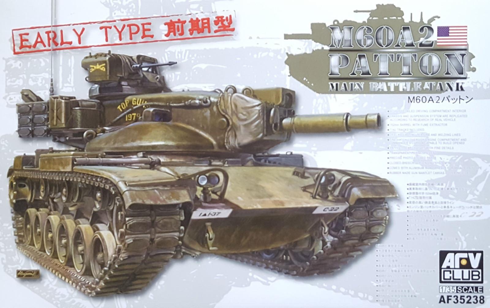 AFV CLUB M60A2 PATTON MAIN BATTLE TANK 1 35 35238