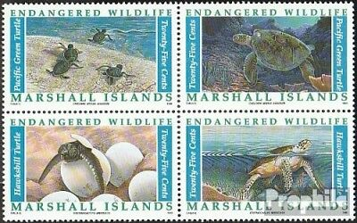Hot Sale Marshall-islands 298-301 Block Of Four Unmounted Mint Australia & Oceania Never Hinged 1990 Affect