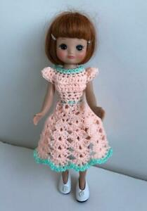 Clothes-for-Tiny-Betsy-McCall-8-034-Tonner-Doll-Handmade-USA-Dress-Lot-TB-20-Peach