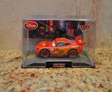 Disney Pixar Cars 2 #95 Lightning McQueen Red Die Cast Model Disney Store NIB