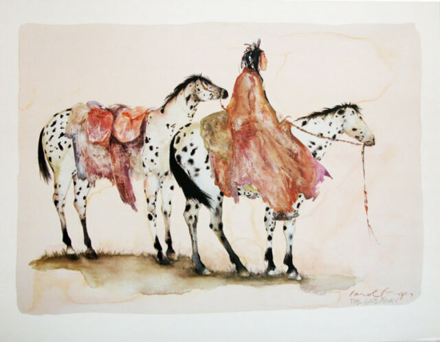 The Giveaway III Art Poster Print by Carol Grigg, 30x24