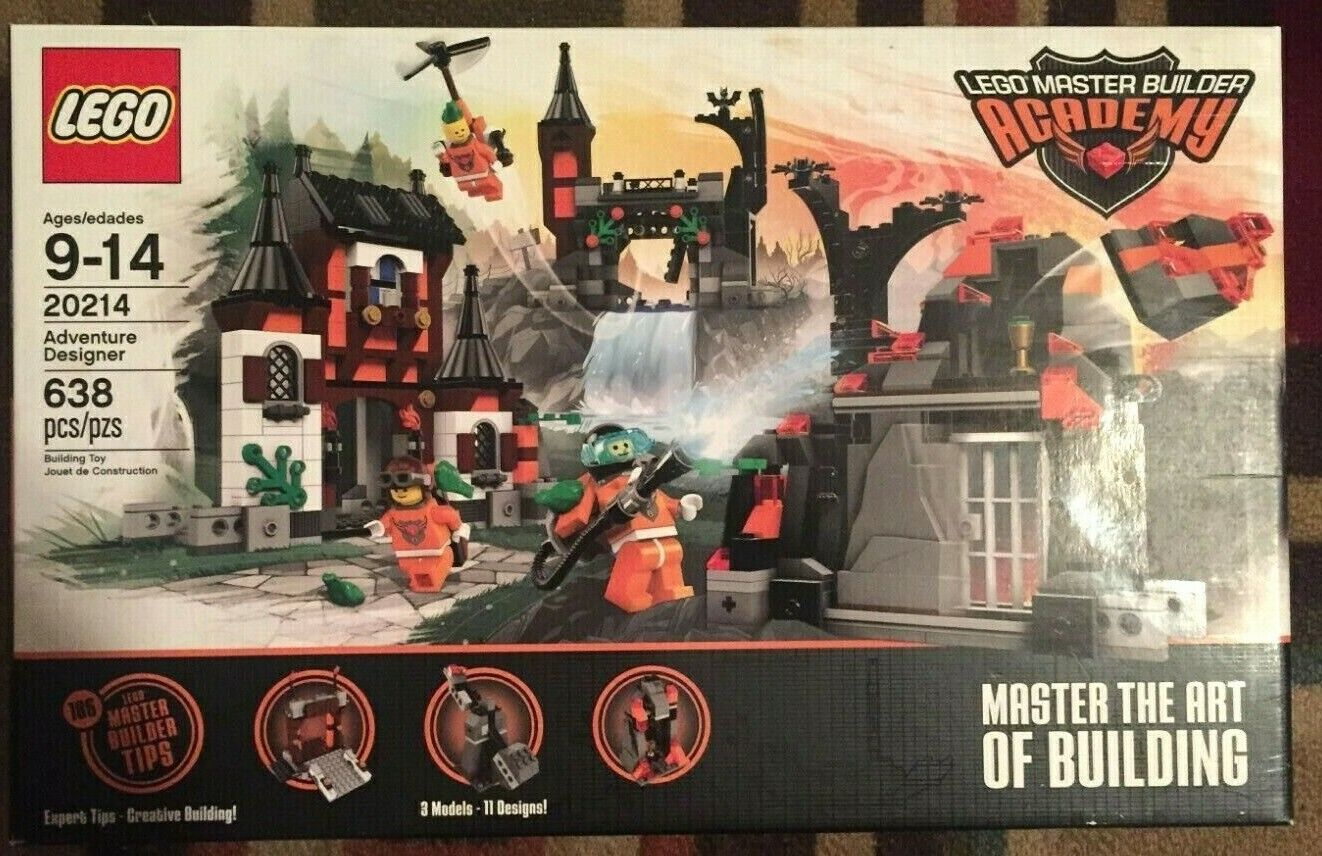 Lego  20214 Master Builder Academy Master the Art  of Building FACTORY SEALED  au prix le plus bas