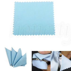 100-200X-Anti-Tarnish-Silver-Jewelry-Polishing-Cleaner-Cleaning-Cloth-80mmX80mm
