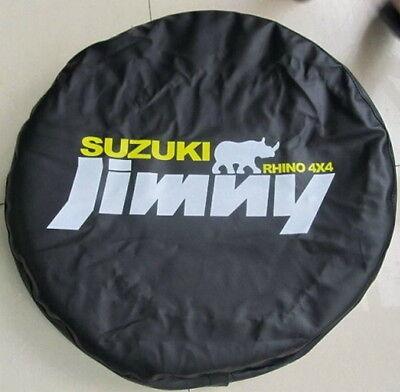 Red Suzuki Jimny Rhino 4x4 Spare Wheel Tire Tyre Soft Cover Bag Protector 26~27S