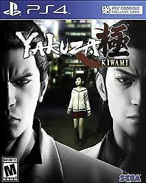 Yakuza Kiwami (Sony PlayStation 4) PS4 GAME DISC & CASE DRAGON OF DOJIMA REBORN