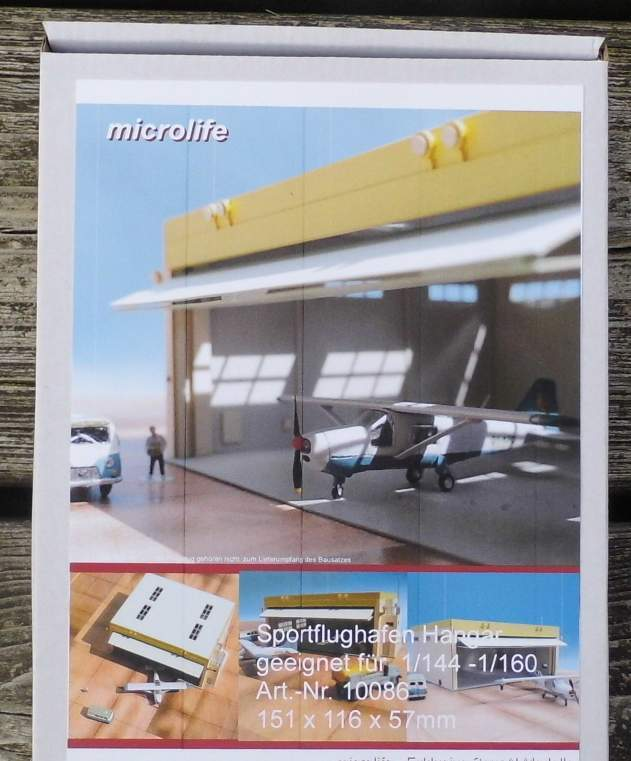 gli ultimi modelli SPORT Aeroporto hangar-di MICROLIFE KIT LASERCUT LASERCUT LASERCUT 1 144 - 1 160 Traccia N  risposta prima volta