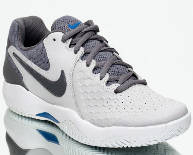 newest 9af95 0e3c8 Nike Air Zoom Resistance Men Vast Grey Gunsmoke Blue Nebula Tennis  918194-044