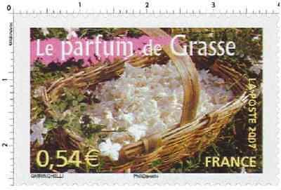 Timbre Neuf France TTB Le parfum de Grasse (Alpes-Maritimes) 2007 N°4097