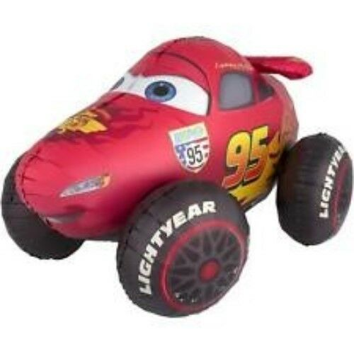 "41"" Disney Cars Lightning McQueen Airwalker Mylar Foil Balloon Party"