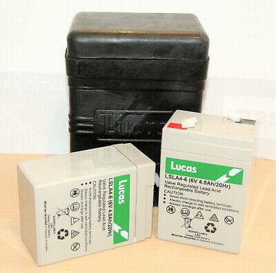 Lucas Batteriegehäuse Mit Akku Bsa Ariel Triumph Norton Rudge Sunbeam 6 Or 12 V Freigabepreis