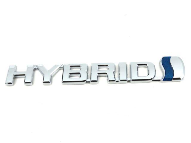 TOYOTA C-HR HYBIRD Genuine Parts Original LOGO Decal Emblem Badge Rear 3D