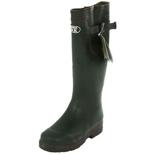 brand new 2e7ab 3549d Details zu British Army Tactical Duty Wellington Boots Mens Olive Green  Combat Wellies
